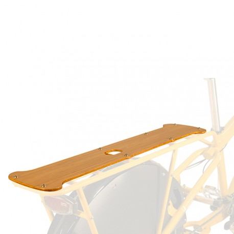 Plateforme Yuba Bamboo Utility Deck pour vélos cargo Mundo