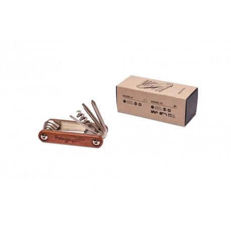 Kit multi-outils Pelago Multi-tool Wood 12