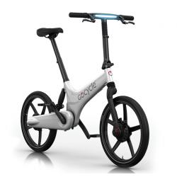 Vélo pliant électrique Gocycle G3 blanc