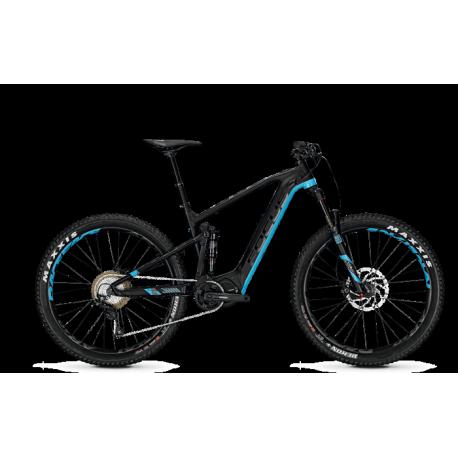 VTT électrique Focus Jam2 Plus Noir/Bleu