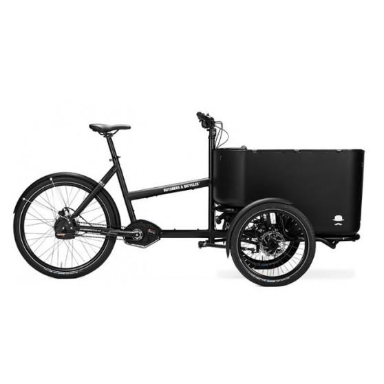 Triporteur électrique Butchers & Bicycles MK1-E NuVinci N380 Noir