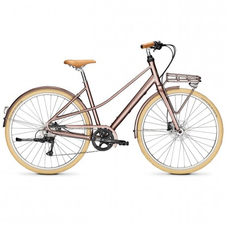 Vélo de ville Kalkhoff Scent Carry pecanbrown glossy
