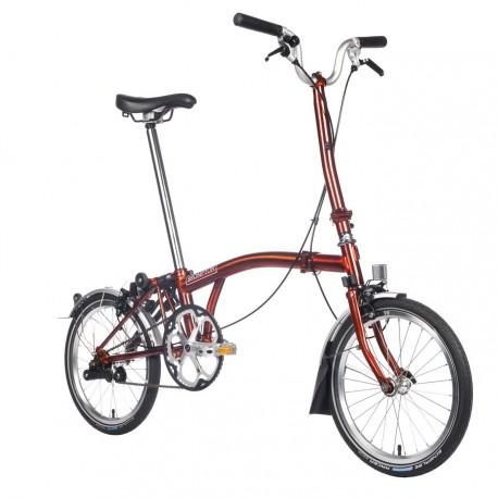Vélo pliant Brompton type H 6 vitesses