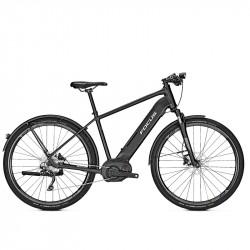 Vélo de ville électrique Focus Planet² 6.8 cadre diamant noir