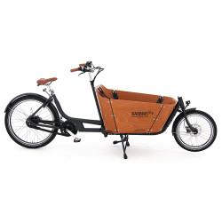 Vélo cargo électrique Babboe City Mountain bois
