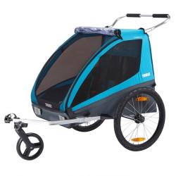 Remorque vélo enfant Thule Chariot Coaster XT