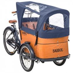 Tente de protection de pluie Babboe Curve bleu