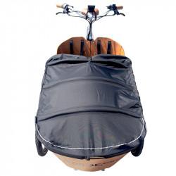 Bâche de protection pour vélo cargo Babboe Carve