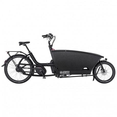 Vélo cargo électrique Urban Arrow Family noir
