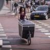 Vélo cargo électrique Urban Arrow Cargo ville