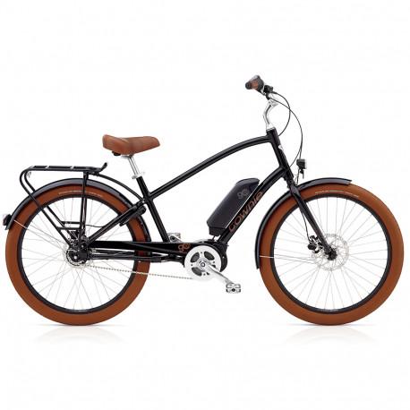 Vélo électrique Electra Townie Go 8D Homme Noir
