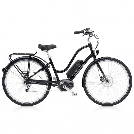 Vélo électrique Electra Townie Commute Go Femme Noir