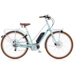 Vélo de ville électrique Electra Loft Go Bleu