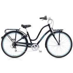 Vélo de ville Electra Townie Commute femme noir
