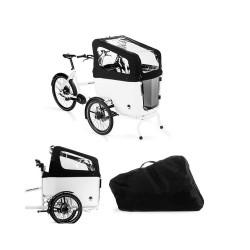 Protection de pluie pour vélo cargo Butchers & Bicycles MK1-E