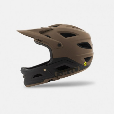 Casque VTT Giro Switchblade Mips marron