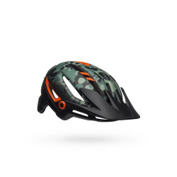 Casque VTT Bell Sixer Mips noir/vert/orange