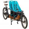 Vélo cargo électrique Babboe Slim Mountain sièges Yepp Thule