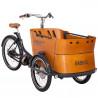 Vélo cargo électrique Babboe Curve Mountain vue latérale