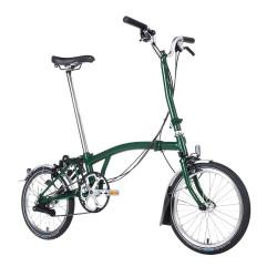 Vélo pliant Brompton type H 6 vitesses noir