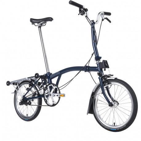 Vélo pliant Brompton type M 3 vitesses lime green