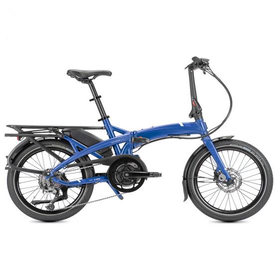 Vélo pliant électrique Tern Vektron Q9 bleu