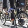 Vélo pliant électrique Brompton noir