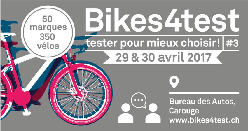 Cyclable sur le salon Bikes4test à Genève