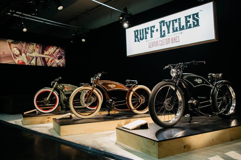 Ruffian : un vélo électrique chopper unique